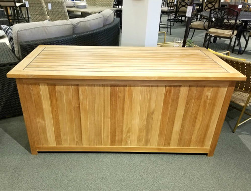 Sunset Beach Natural Teak Storage Box