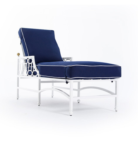 Barclay Butera Cushioned Chaise Lounge