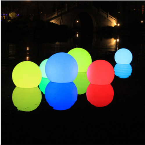 Outdoor LED Lighting Balls & Cubes