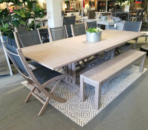 Sillage Weathered Teak Dining