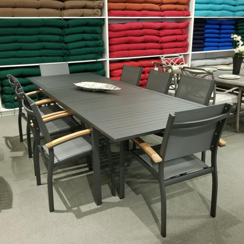 Compass 9-Piece Extension Dining Set