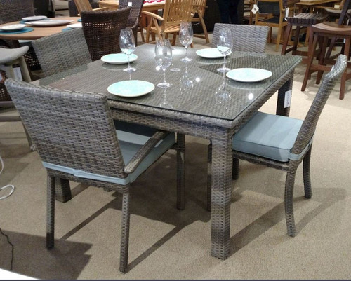 Cabo Wicker 5-Piece Dining Set