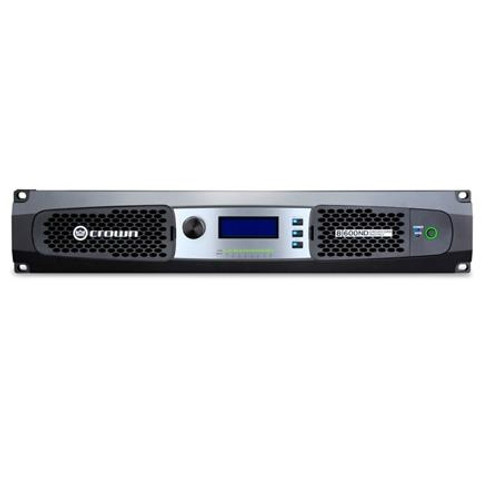 Crown Eight channel 600W @ 4 Ohm Power Amplifier with AVB, 70V/100V, DCi8|600ND
