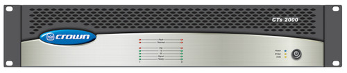 Crown Two-channel, 1000W Power Amplifier, CTs2000