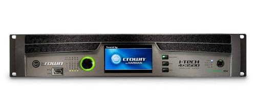 Crown FourChannel 4000W @ 4 Ohm Power Amplifier, I-Tech IT4X3500HDB