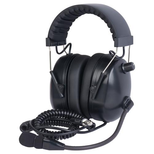 WICOM Mono PNR Helicopter Headset - Black