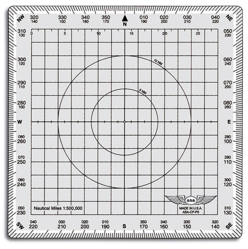 ASA Square Aviation Plotter