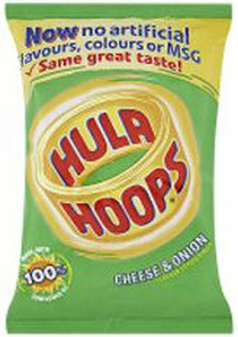 Hula Hoops Cheese and Onion Pack of 12