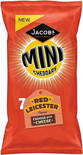 Jacob's Mini Red Leicester Cheddars Pack of 7