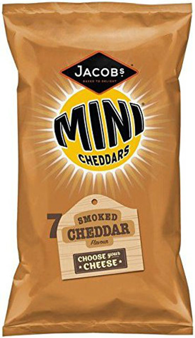 Jacob's Mini Smoked Cheddars pack of 7
