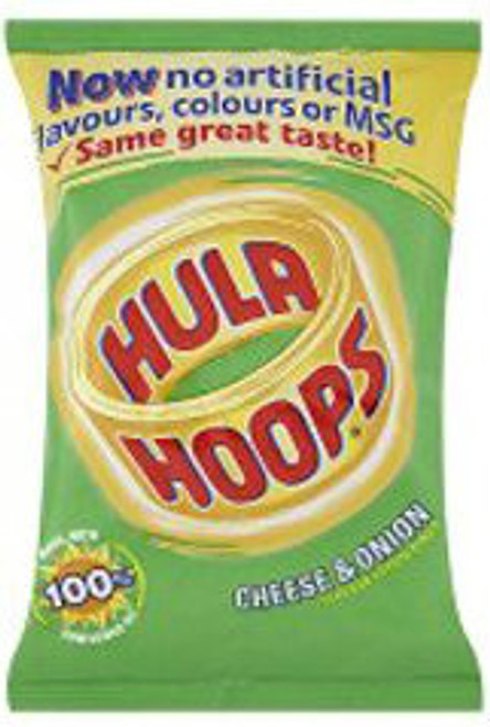 Hula Hoops Cheese & Onion Case of 48