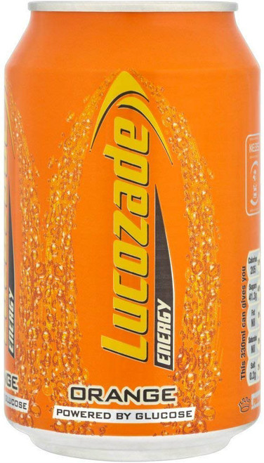 Lucozade Orange (330Ml / 11.6oz)