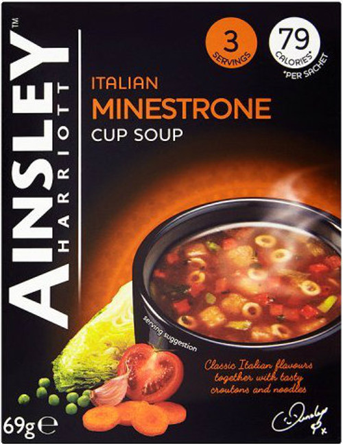 Ainsley Harriott Minestrone Cup of Soup (3 Sachets)