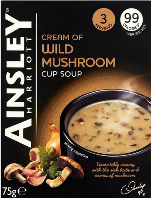 Ainsley Harriott Wild Mushroom Soup Pack of 3