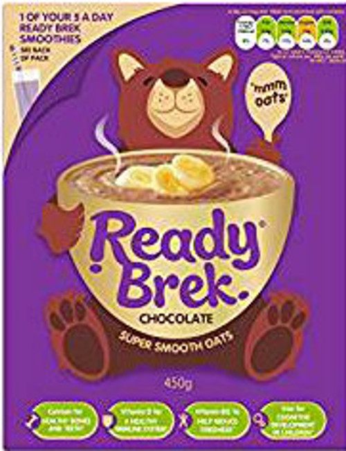Ready Brek Chocolate Cereal 450g