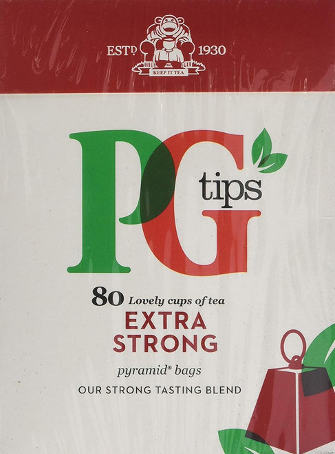 PG Tips Extra Strong Tea (80 Tea Bag's)