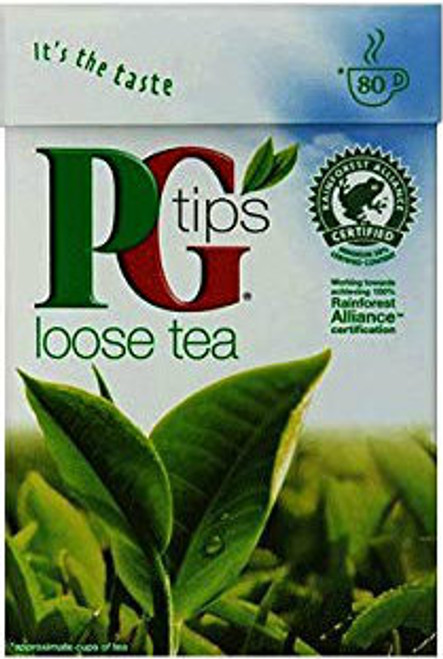 PG Tips Loose Black Tea (250g / 8.8 oz)