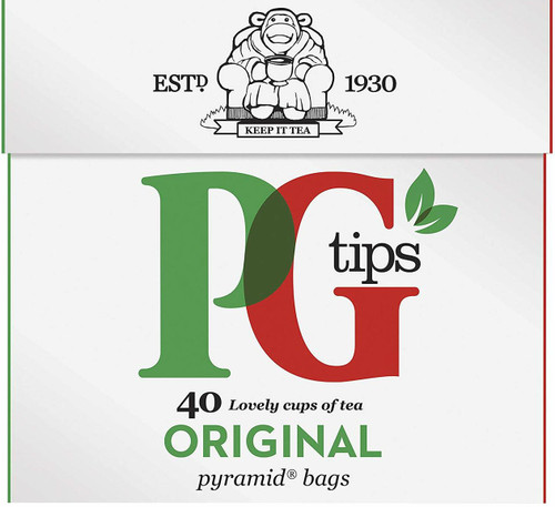 PG Tips Original Tea (40 Tea Bag's)