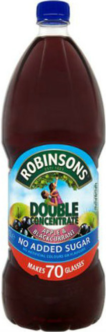 Robinson's Double Concentrate Apple & Blackcurrant 1.75ltr