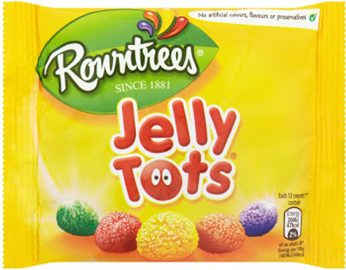 Rowntree Jelly Tots (43g/1.6oz)