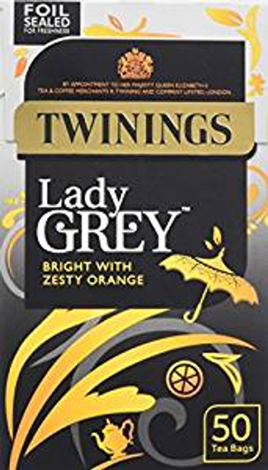 Twining Lady Grey Tea 50 Tea Bag's
