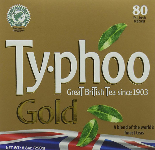 Typhoo Gold Tea 80 Tea Bag's