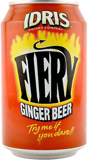 Idris Fiery Ginger Beer (330ml / 11fl oz)