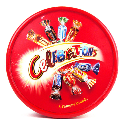 Mars Celebrations Tub (750g / 1 lbs 11oz)