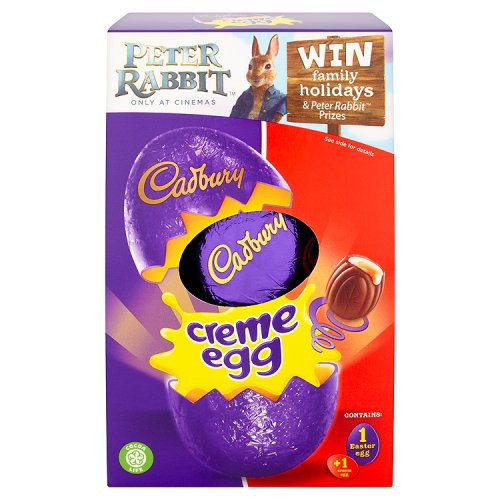 Cadbury Creme Chocolate Medium Easter Egg