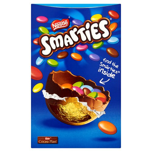 Nestle Smarties Chocolate Easter Egg