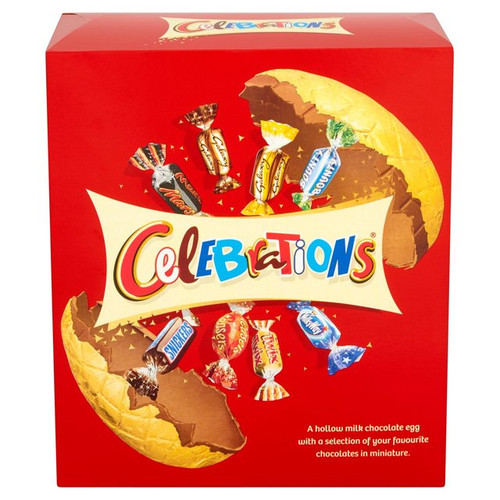 Mars Celebrations Luxury Chocolate Easter Egg