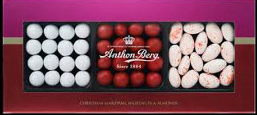 Anthon Berg Christmas Marziapn, Hazelnuts and Almonds 175g