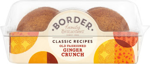 Border Biscuits - Old Fashioned Ginger Crunch 150g