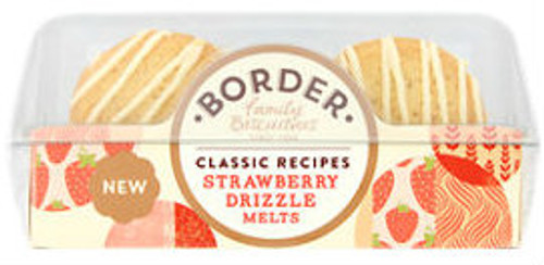 Border Melts - Strawberry Drizzle 150g