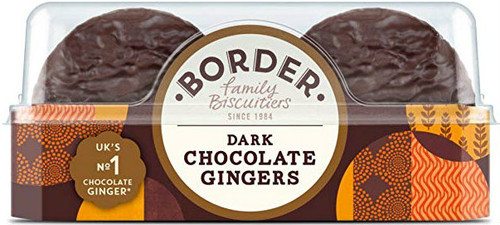 Borders Biscuits - Dark Chocolate Ginger 175g