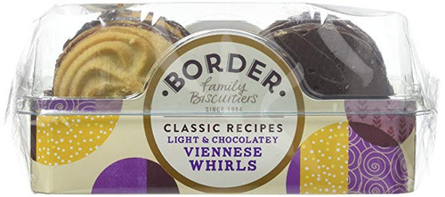 Borders Biscuits - Milk Chocolate Viennese 150g