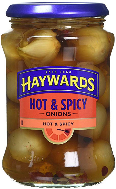 Hayward's Hot & Spicy Pickled Onions 400g