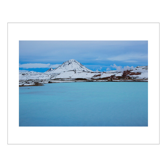 Myvatn Blue Lake (Iceland)