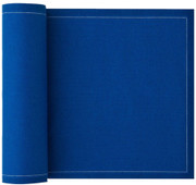 Royal Blue Cotton Luncheon Napkin - 25 Units Per Roll