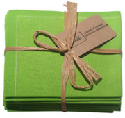 Pistachio Cotton Folded Napkin - 20 Units Per Pack