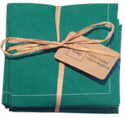Emerald Cotton Folded Napkin - 20 Units Per Pack