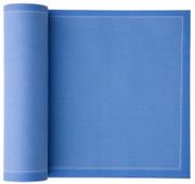 Sea Blue Cotton Dinner Napkin - 12 Units Per Roll