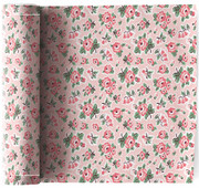 Flowers  Cotton Printed Luncheon Napkin - 12 Units Per Roll