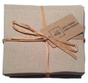 Sand Cotton Folded Napkin Wholesale (20 Units)