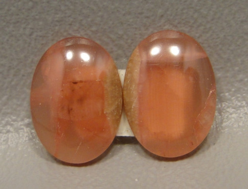 Rhodochrosite Translucent Matched Pair Cabochons #9