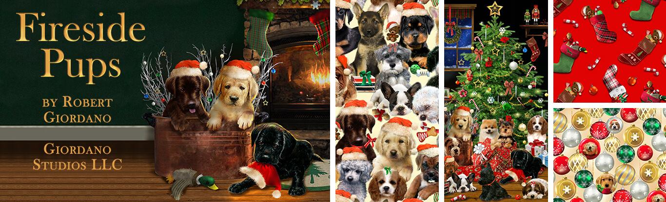 Fireside Pups