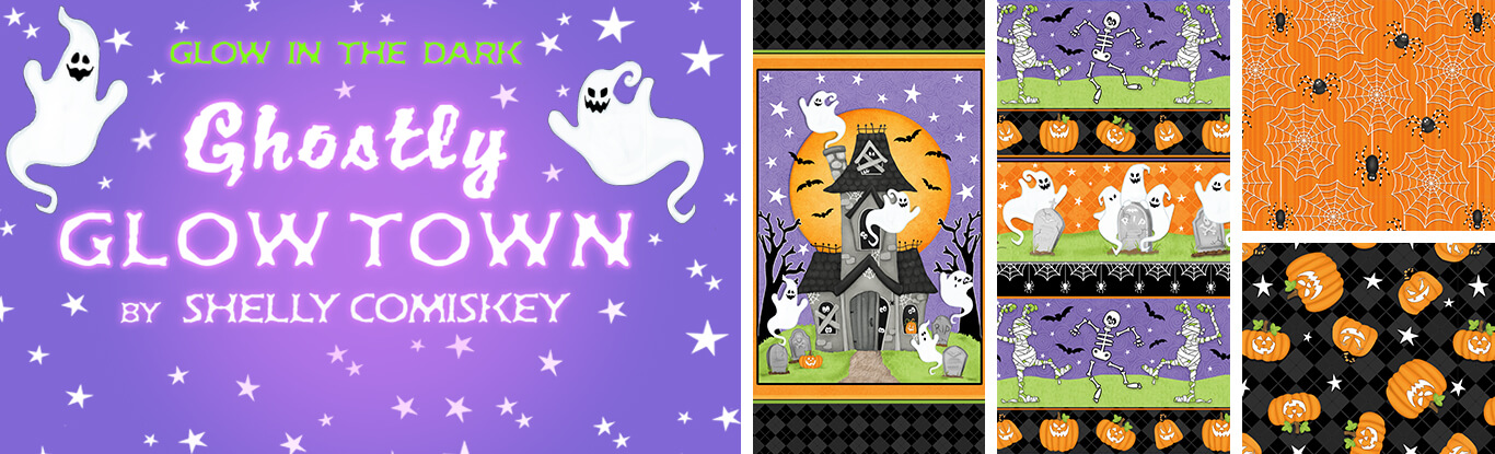 Ghostly Glow Town