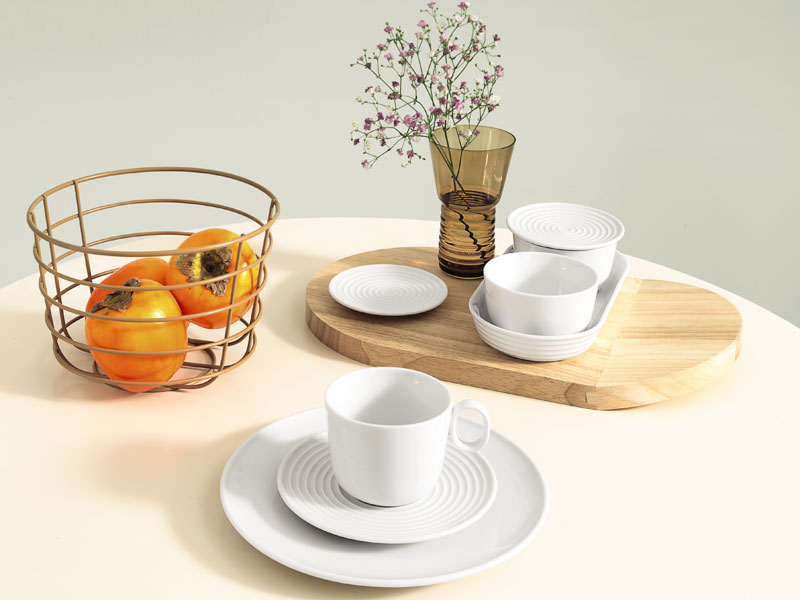 THOMAS DINNERWARE & Thomas Loft Tableware u0026 Thomas Loft White Salad Plate Fine China ...