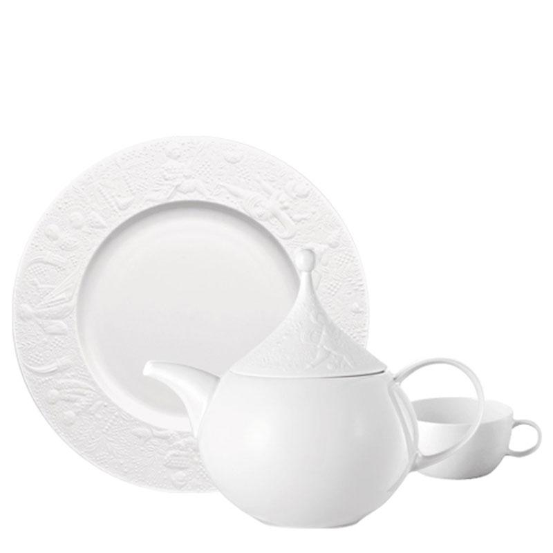 MAGIC FLUTE WHITE DINNERWARE  sc 1 st  Rosenthal & Dinnerware | Rosenthal Shop