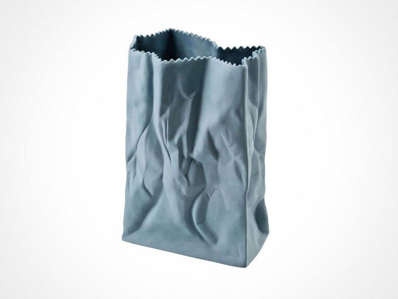 Rosenthal Bag Vase on white background